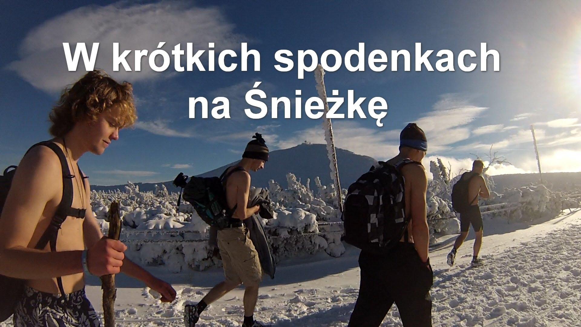W krótkich spodenkach na Śnieżkę – Wim Hof