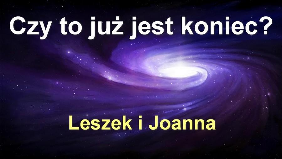 Czy to już jest koniec? – Leszek i Joanna