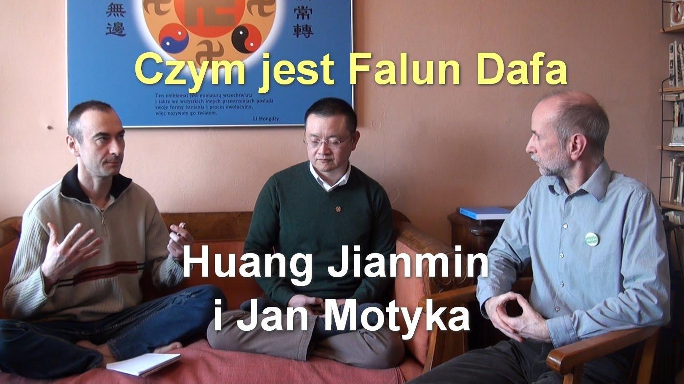 Czym jest Falun Dafa – Huang Jianmin i Jan Motyka