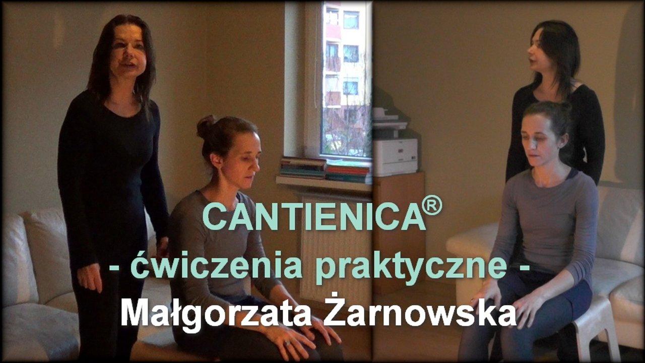 CANTIENICA® – ćwiczenia praktyczne – Małgorzata Żarnowska