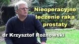 Nieoperacyjne leczenie raka prostaty – dr Krzysztof Rożnowski