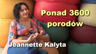 Ponad 3600 porodów – Jeannette Kalyta