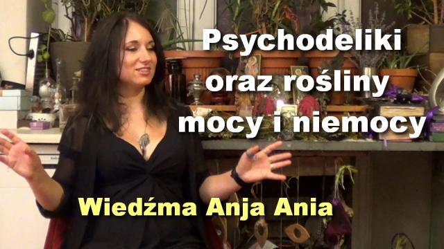 Psychodeliki oraz rośliny mocy i niemocy – Wiedźma Anja Ania