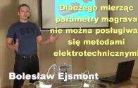 Dlaczego mierząc parametry magrava nie można posługiwać się metodami elektrotechnicznymi – Bolesław Ejsmont