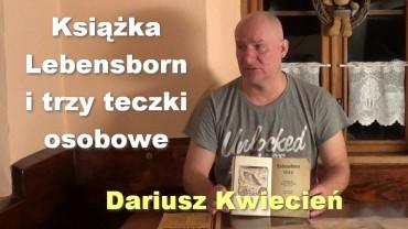 Książka Lebensborn i trzy teczki osobowe – Dariusz Kwiecień