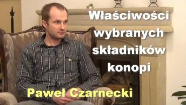 Właściwości wybranych składników konopi – Paweł Czarnecki