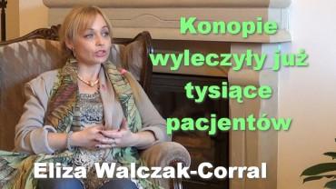 Konopie wyleczyły już tysiące pacjentów – Eliza Walczak-Corral