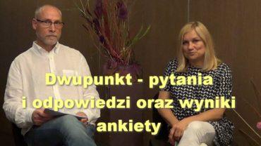 Dwupunkt – pytania i odpowiedzi oraz wyniki ankiety – Katarzyna Świstelnicka i Piotr Kaliński