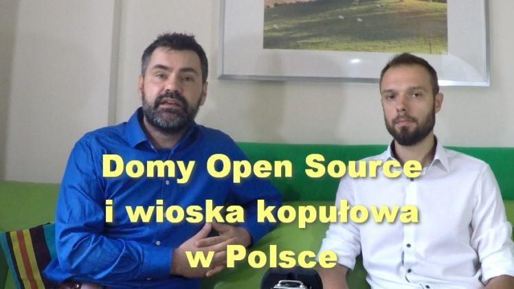 Domy Open Source i wioska kopułowa w Polsce – Marcin Vam i Artur Nowacki