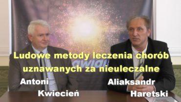 Aliaksandr Haretski konferencja
