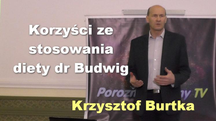 Korzyści ze stosowania diety dr Budwig – Krzysztof Burtka