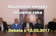 Skuteczne metody leczenia raka – debata, 12.02.2017