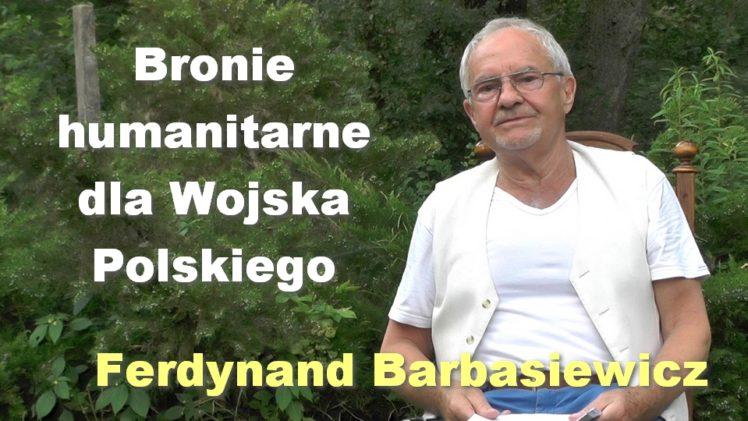 Bronie humanitarne dla Wojska Polskiego – Ferdynand Barbasiewicz