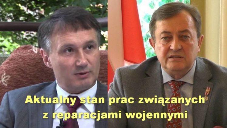 Aktualny stan prac związanych z reparacjami wojennymi – dr Zbigniew Kękuś i Jan Zbigniew hrabia Potocki
