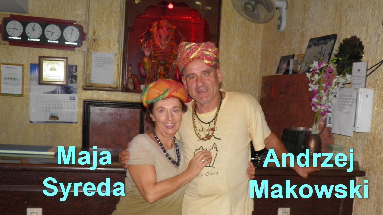 Maja Syreda i Andrzej Makowski