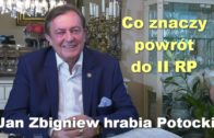 Jan Potocki powrót do II RP