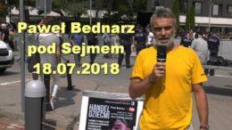 Pawel Bednarz handel dziecmi