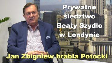 Jan Potocki sledztwo Szydlo