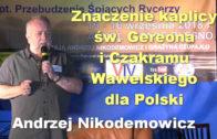 Andrzej Nikodemowicz kaplica Gereona