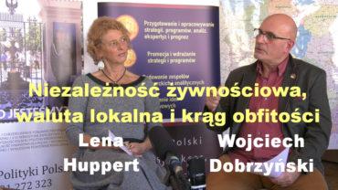 Lena Huppert i Wojciech Dobrzynski