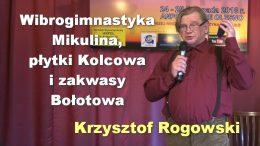 Krzysztof Rogowski wibrogimnastyka