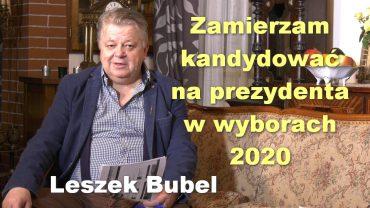 Leszek Bubel prezydent