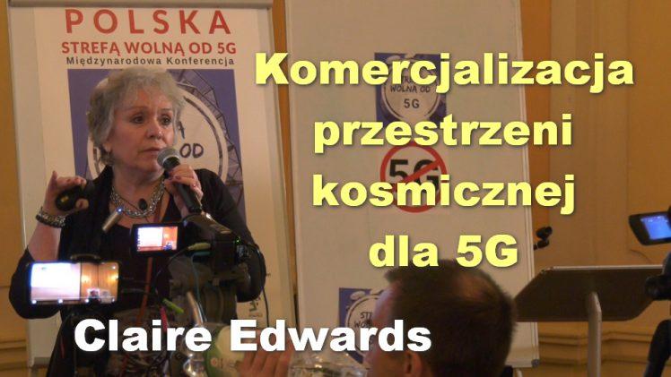 Komercjalizacja przestrzeni kosmicznej dla 5G – Claire Edwards