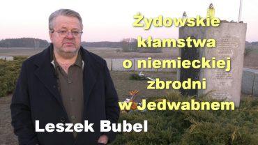 Leszek Bubel_Jedwabne