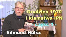 Edmund Hulsz grudzien 1970