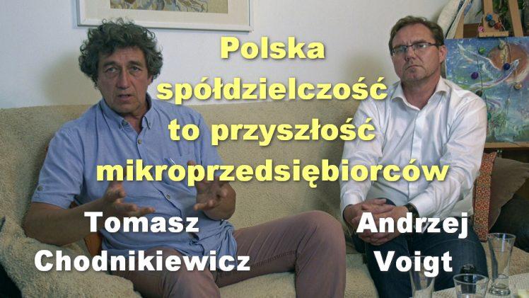 Polska spółdzielczość to przyszłość mikroprzedsiębiorców – Tomasz Chodnikiewicz i Andrzej Voigt
