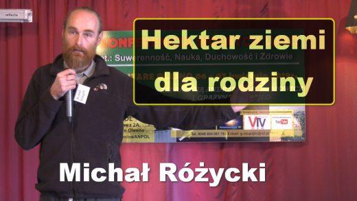 Michal Rozycki hektar ziemi
