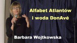Barbara Wojtkowska alfabet Atlantow