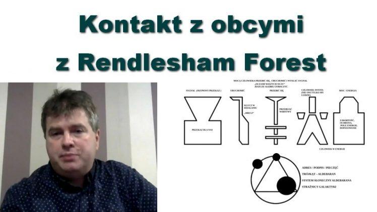 Kontakt z obcymi z Rendlesham Forest – Wojtek Prus