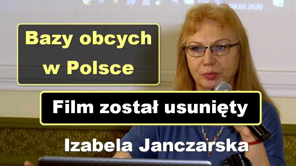 Bazy obcych w Polsce – Izabela Janczarska