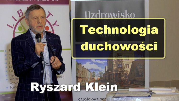 Technologia duchowości – Ryszard Klein