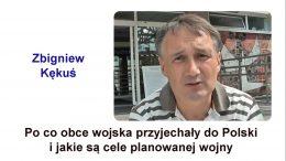 Zbigniew Kekus obce wojska