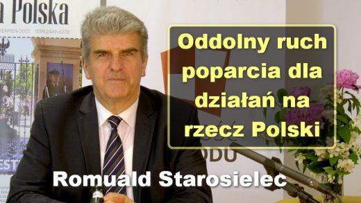 Romuald Starosielec konferencja prasowa