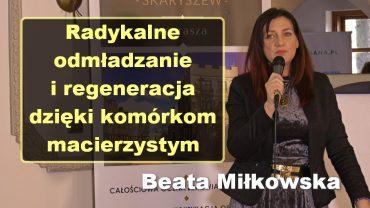 Beata Milkowska komorki macierzyste