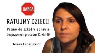 Teresa Labaziewicz pismo do szkol