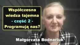 Malgorzata Bodnariuk wiedza tajemna 2