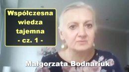 Malgorzata Bodnariuk wiedza tajemna