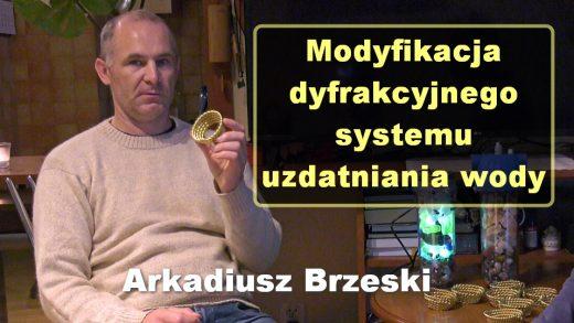 Modyfikacja dyfrakcyjnego systemu uzdatniania wody – Arkadiusz Brzeski